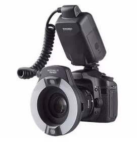 Flash Profissional Yongnuo Yn-14m Camera Canon
