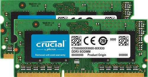 Kit Crucial 16gb(2x8gb)1866 1867mhz iMac 27 5k Retina 2015