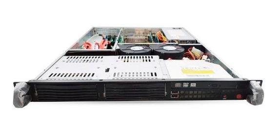 Servidor Supermicro 1u Sc811l-350b Xeon E3-1231 V3 8gb Ddr3