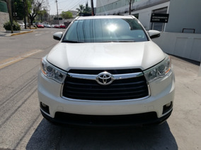 Toyota Highlander 3.5 Xle V6 At 2015 Certificada