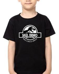 Camiseta Estampada Cumpleaños Infantil / Jurassic