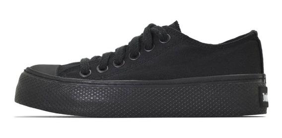 Zapatillas John Foos 752 Total Black Platform Tienda Oficial