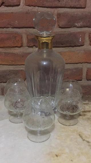 Juego De Whisky Cristal