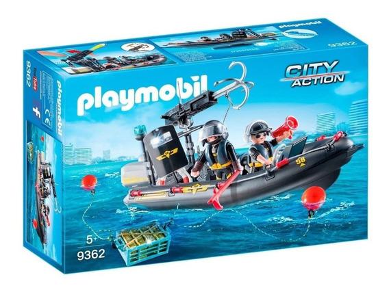 Lancha De Las Fuerzas Especiales -playmobil