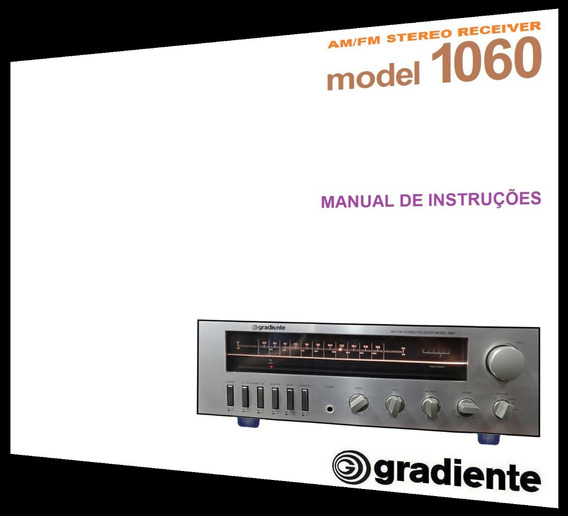 Manual Do Receiver Gradiente Model 1060 (cópia Colorida)