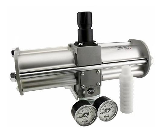 Multiplicador De Pressão Booster Pneumático Vba40a-f04gn