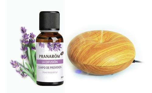 Difusor Ultrasónico + Aceite Esencial Pranarom Provence 30ml