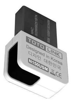Placa De Red Wi Fi Usb Tl-n150usm Nano Toto Link N Hi End