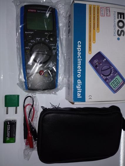 Capacimetro Digital Alcance 200p. A. 20000uf Outras Funcoes