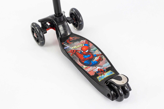 Monopatín O Scooter De Spiderman Cod. 0072r-2