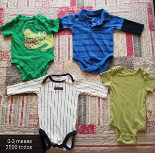 Mamelucos De Niño 0 A 3 Meses Todos En 2500