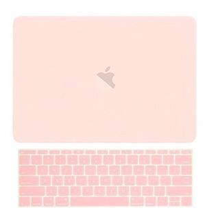 Carcasa Top Case De Goma Mate+funda Teclado P/macbook Pro