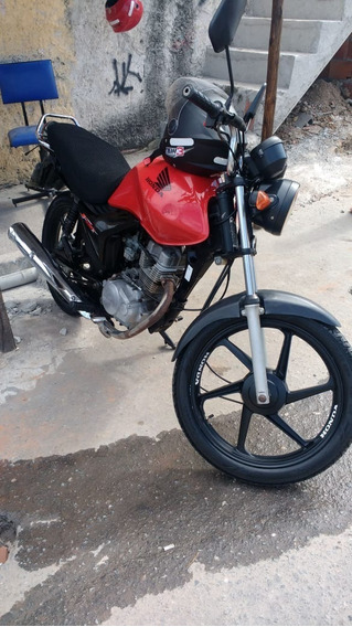 Vendo Fan-125 Es Moto Boa De Andar E Trabalhar!