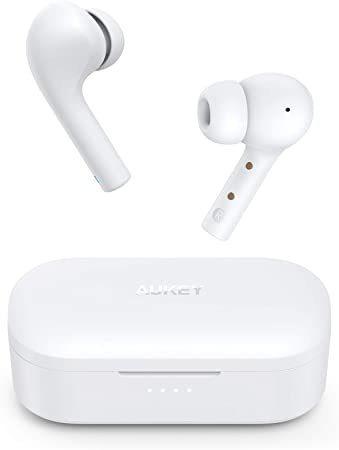 Imagen 1 de 6 de Aukey Auriculares Inalámbricos Verdaderos, Bluetooth 5 Auric