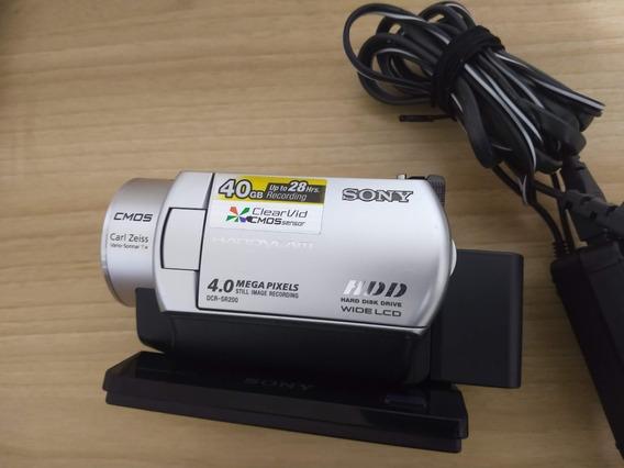 Filmadora Sony Hdd Dcr-sr200