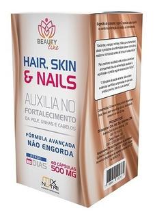 Hair Skin E Nails 60 Caps (vitamina Cabelo)