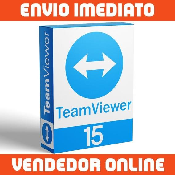 Team Viewer 15 - Vitalício - Infinitos Pcs - Envio 5 Minutos