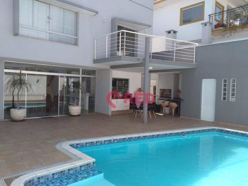 Sobrado Com 3 Suítes À Venda, 450 M² Por R$ 1.800.000 - Condomínio Lago Da Boa Vista - Sorocaba/sp - So0233