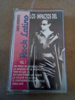 Cassette Impactos Del Rock Latino (c749