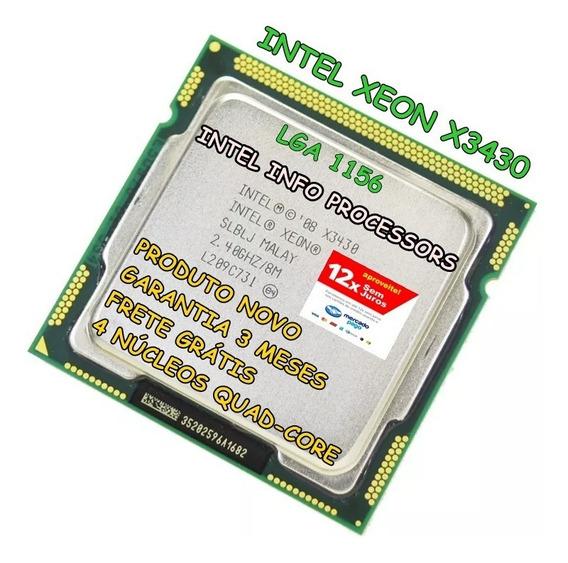 Processador Intel Xeon X3430 I5 750 I5 760 Lga 1156 + Brinde