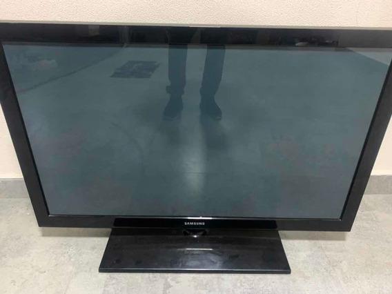 Tv Samsung 42 Tela Trincada (retirada De Peças)