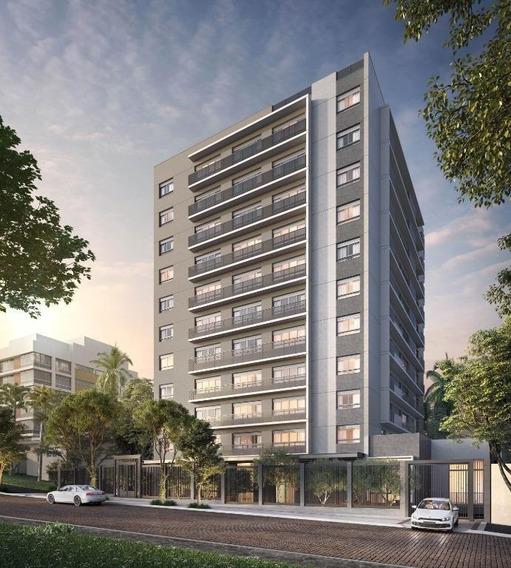 Apartamento Em Petrópolis, Porto Alegre/rs De 42m² 1 Quartos À Venda Por R$ 595.185,28 - Ap347053