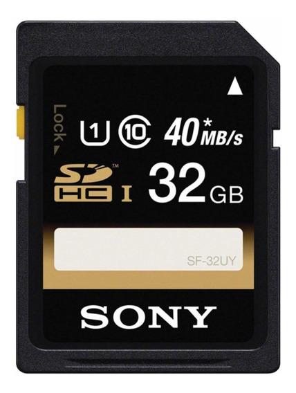 Cartão De Memória Sony Sdhc 32gb