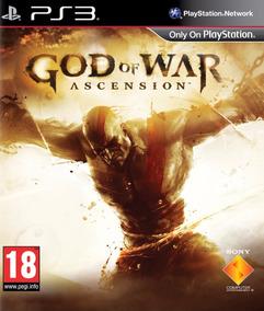 Jogo God Of War Ascension Ps3 Mídia Física 100% Português