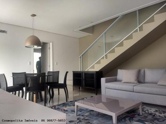 Casa Em Condomínio Para Venda Em Teresina, Morros, 3 Dormitórios, 3 Suítes, 4 Banheiros, 2 Vagas - Jardim Dos Morros
