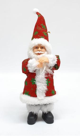 Papa Noel Artesanal 18 Cm #30976 - Sheshu Navidad