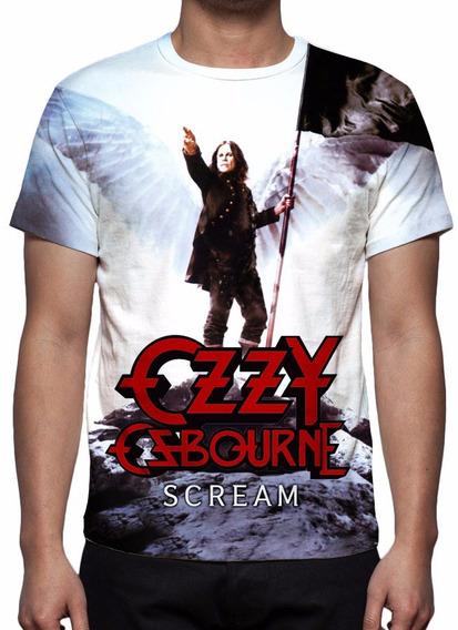Camisa, Camiseta Ozzy Osbourne - Scream
