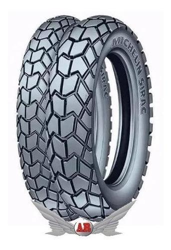 Cubierta Michelin 275 18 Sirac Semi Taco Ybr Cg Titan Rx