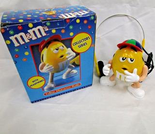 Rádio Am/fm M & M Boné De Baseball Vintage Novelty Década 90
