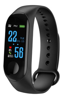 Smart Band M3 Reloj Inteligente Ritmo Cardiaco