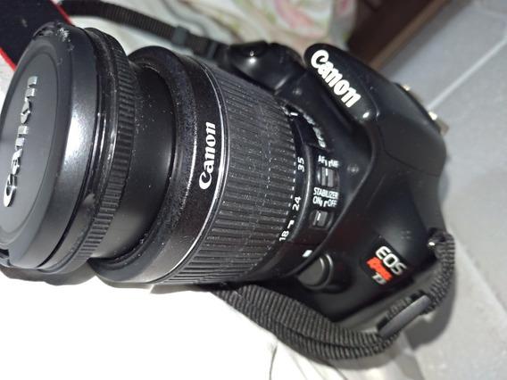 Câmera Canon Eos Rebel T3 2k Click Promoção Para Sair Rápido