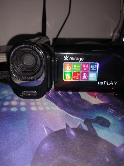 Filmadora Hd Play Mirage 14 Megapixel