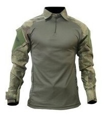 Camisa Combat Shirt Tatica Militar Segurança Reforçada