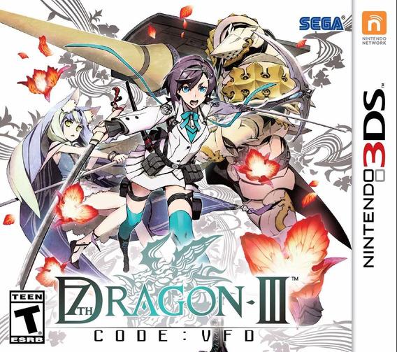 Jogo Novo Mídia Física Dragon 3 Code Vfo Para Nintendo 3ds