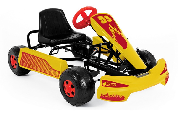 Karting A Pedal Jeico Ent-50467 Reforzado