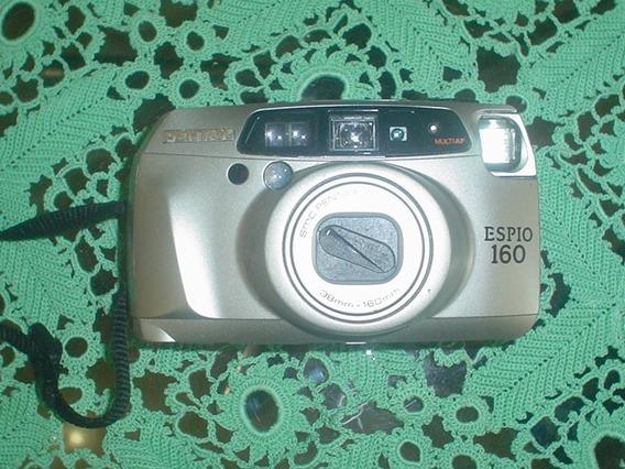 Camera Fotografica Pentax Com Zoom Pelicula