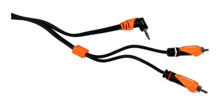 Cable Miniplug Stereo 90 A 2 Rca 1,8 Mts Bespeco Slympr180