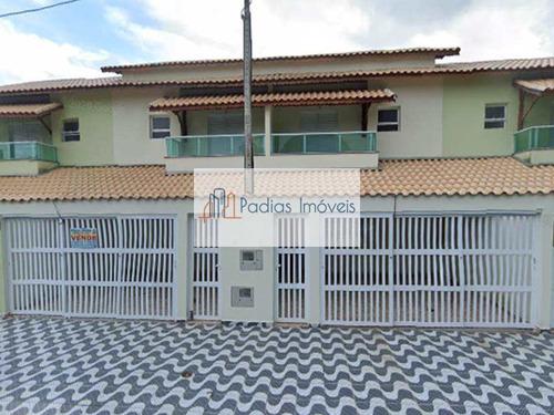 Sobrado Com 2 Dorms, Solemar, Praia Grande - R$ 295 Mil, Cod: 833000 - V833000