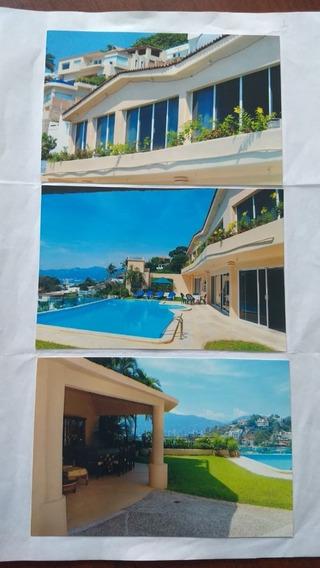 Casa En Las Brisas Acapulco 6 Recas.6 Baños Garage 15 Autos