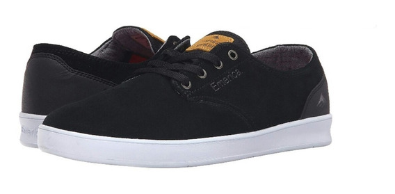 Zapatillas Emerica The Romero Laced Black White