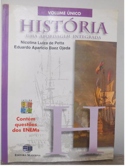 Livro História Uma Abordagem Integrada Vol Unico Nicolina