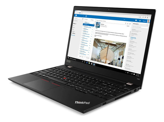 Laptop Lenovo I5 8gb 256gb Ssd Thinkpad T590 15 Black