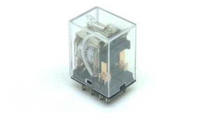 Relé Industrial Mini Tipo Finder 55.32.9.024.0040 2 Co 24vdc