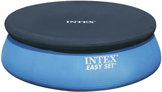 Pileta Inflable Intex Easyset 305 X 76 Con Cobertor Intex