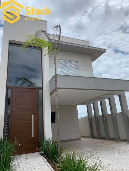 Casa Nova E Moderna Com 3 Suítes, À Venda No Condomínio Reserva Da Mata No Bairro Corrupira Em Jundiaí/sp. - Ca01483