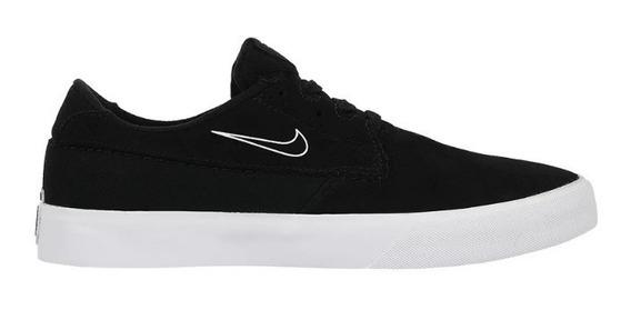 Tênis Nike Sb Shane Black Black White 14834 Original